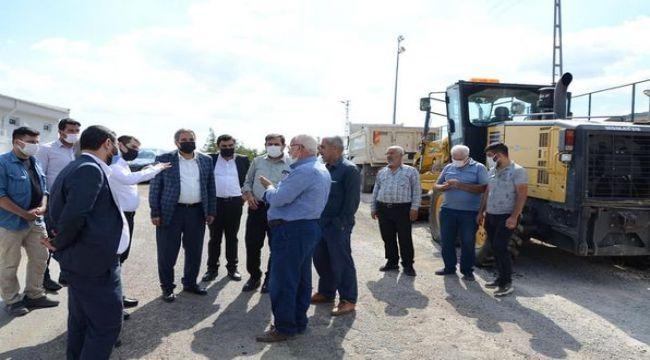 Başkan Erdoğan : Tut ilçemizde 162 bin metrekare taş döşendi