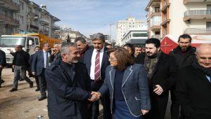 Başkan Fatma Şahin, Depremden Etkilenen Bölgeleri Ziyaret Etti