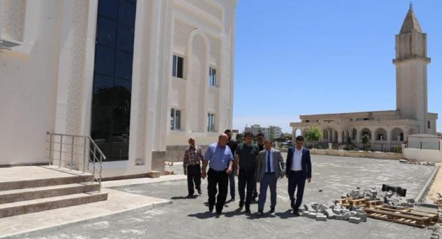 Başkan Kılınç, Abdulhamid Han Gençlik Merkezi'ni İnceledi