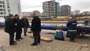 Başkan Kılınç, Altınşehir Mahallesi'ndeki Çalışmaları Yerinde İnceledi