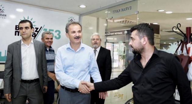 Başkan Kılınç, Belediye Personeliyle Bayramlaştı