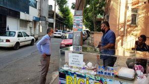 Başkan Kılınç, Eskisaray mahallesi esnafını ziyaret etti