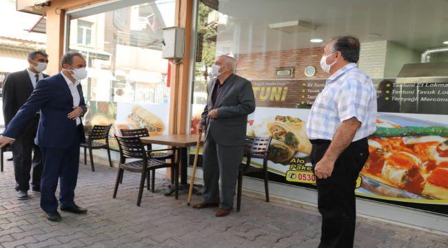 Başkan Kılınç, Esnafla Bir Araya Geldi