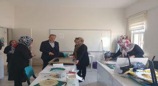 Başkan Kılınç, Kadın ve Gençlik Merkezini Ziyaret Etti