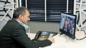 Başkan Kılınç, Muhtarlarla Telekonferans Sistemiyle Görüştü