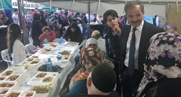 Başkan Kılınç, Orucunu Vatandaşlarla Birlikte Açtı