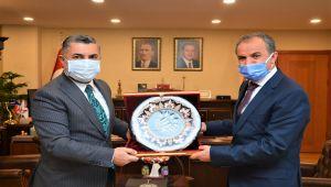 Başkan Kılınç, RTÜK Başkanı Şahin'le yerel basının sorunlarını konuştu