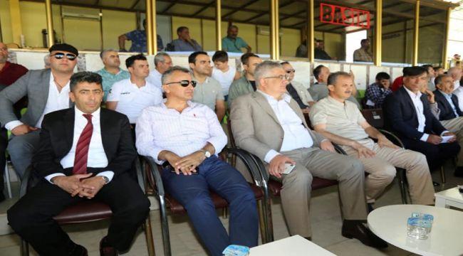 Başkan Kılınç'tan, Adıyaman 1954'e ve Kahta 02 Spor'a Başarı Mesajı
