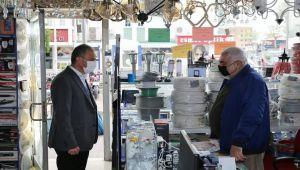 Başkan Kılınç'tan esnafa Ramazan ziyareti