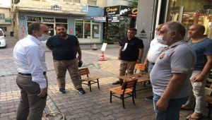 Başkan Kılınç'tan esnafa ve vatandaşlara 'sosyal mesafe' ve 'maske' uyarısı