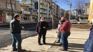 Başkan Kılınç'tan, kısıtlama günlerinde çalışan personele ve esnafa ziyaret