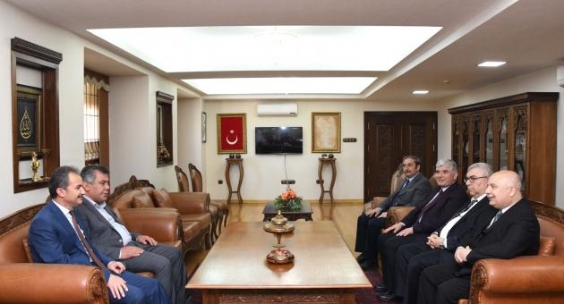 Başkan Kılınç'tan Rektör Gönüllü'ye İade-i Ziyaret