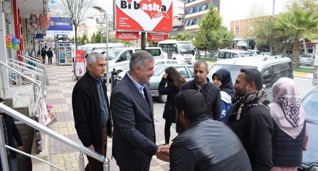 Başkan Turanlı, Esnaf Ziyaretinde Birlik ve Beraberlik Mesajı Verdi