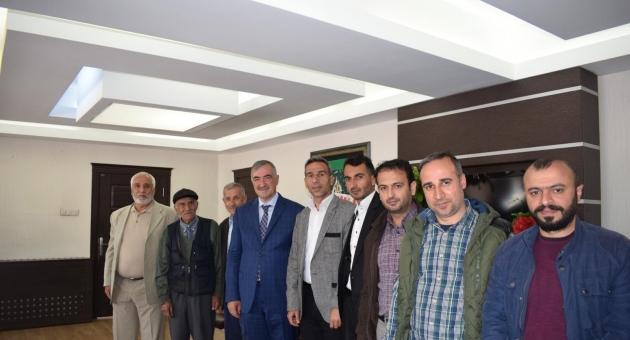 Başkan Turanlı'ya Ziyaretler Devam Ediyor