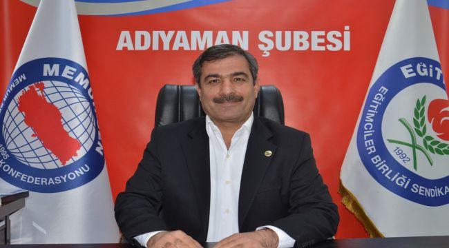 Başkan Yardımcısı Bayram: Atama, yer değiştirme ve görevde yükselme yönetmeliklerini dava ettik