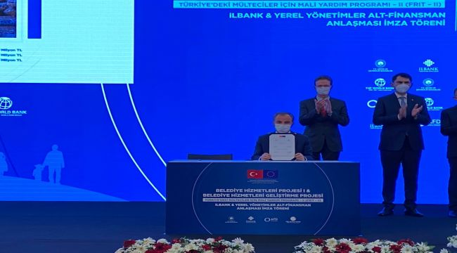 Başkanı Kılınç: 10 bin metreküplük yeni içme suyu deposu projesi için imzalar atıldı