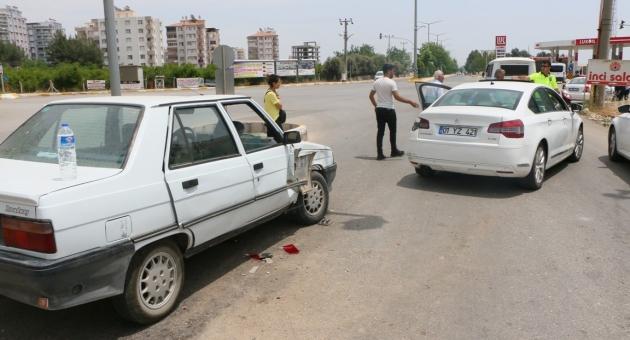 Bayram Ziyaretine Giderken Otomobiller Çarpıştı: 5 Yaralı