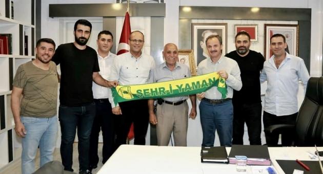 Belediye Başkanı Kılınç'tan, Adıyaman 1954 Spor'a Tam Destek