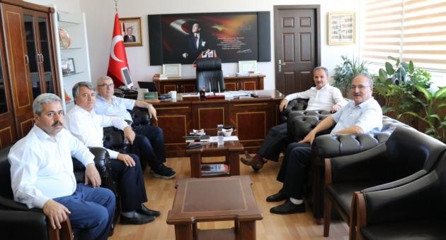 Belediye Başkanı Kılınç'tan İl Milli Eğitim Müdürü Alagöz'e Ziyaret