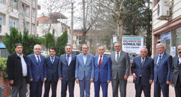 Belediye Başkanları Birliğinden Başkan Özdemir'e Ziyaret
