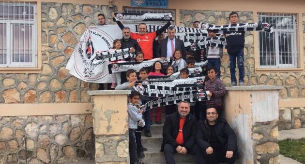 Beşiktaş'tan Adıyamanlı Çocuklara Anlamlı Ziyaret