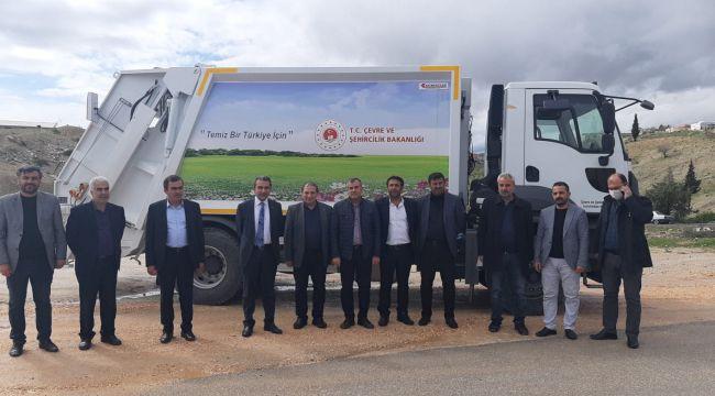 Besni Belediyesi Araç Filosuna Yenisini Ekledi