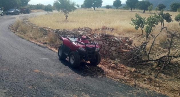 Besni'de Devrilen ATV'deki 5 Kişi Yaralandı