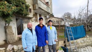 Besni'de Meslek Lisesi Öğrencileri Ailelerle Buluşuyor
