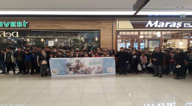 Besni'de Öğrenciler Sinemayla Buluştu