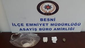 Besni'de uyuşturucu operasyonu: 1 gözaltı