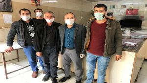 Besni Esnaf Odasından Esnaflara Ücretsiz Maske