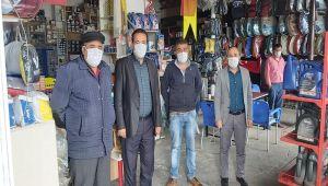 Besni ESOB'dan Esnaflara Ücretsiz Maske