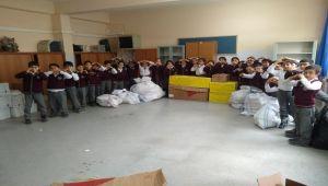 Besni'li Öğrencilerden Elazığ'daki Kardeşlerine Destek