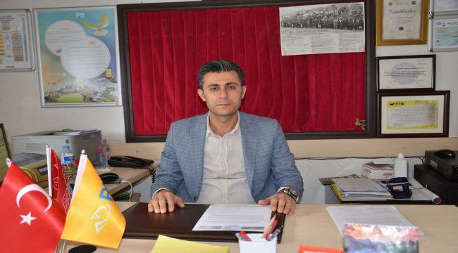 Besni PTT Şube Müdürü Arslan'dan Sosyal Mesafe Kuralı Uyarısı
