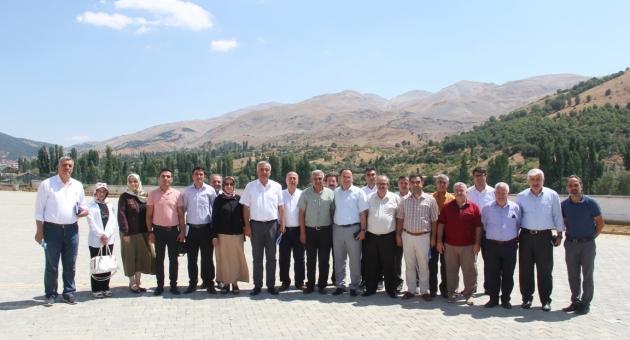 Bilgi Alışverişi Toplantısı Çelikhan'da Düzenlendi