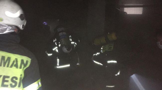 Bodrum katında çıkan yangın korkuttu - Videolu Haber