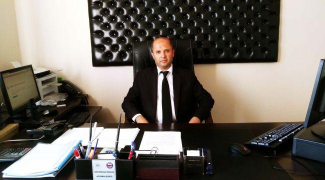 Çelikhan'a Yeni Mal Müdürü Atandı