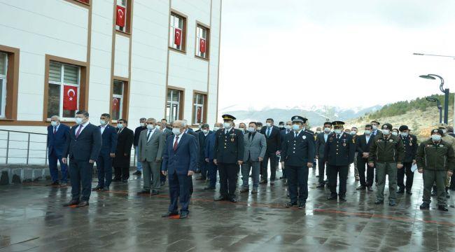 Çelikhan'da 18 Mart Çanakkale Şehitleri Anıldı