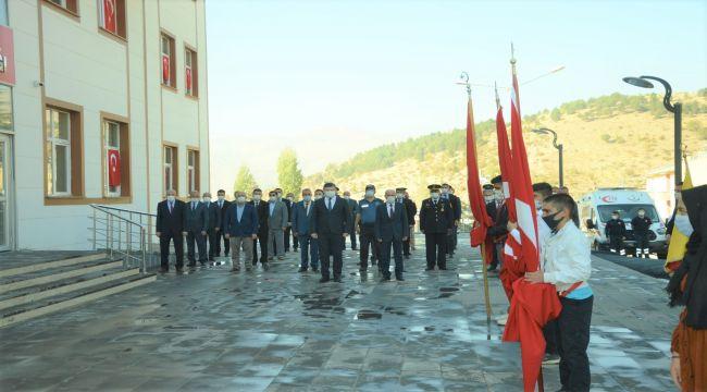 Çelikhan'da 29 Ekim Cumhuriyet Bayramı kutlandı