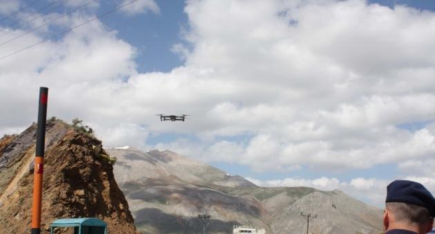 Çelikhan'da Drone İle Asayiş Uygulaması - Videolu Haber