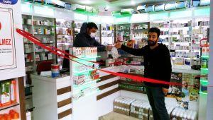 Çelikhan'da Eczaneler Koronavirüs Önlemini Aldı