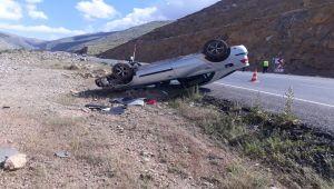 Çelikhan'da otomobil şarampole devrildi: 4 yaralı - Videolu Haber