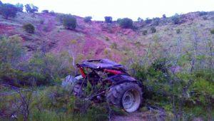 Çelikhan'da Traktör Devrildi: 1 Yaralı