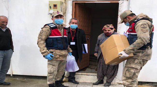 Çelikhan'da Vefa Ekibi Yaşlıların Hizmetinde