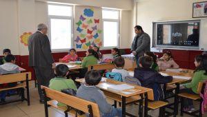 Çelikhan İlçe Milli Eğitim Müdürü Acar'dan, Köy Okullarına Ziyaret