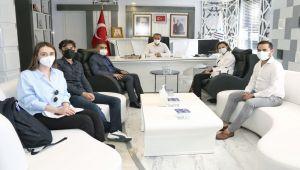 Çevre ve Şehircilik Bakanlığı Daire Başkanından, Başkan Kılınç'a ziyaret
