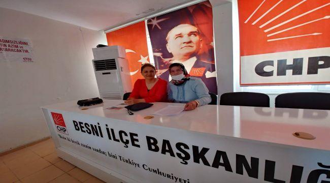 CHP Besni Kadın Kollarından İstanbul Sözleşmesi açıklaması