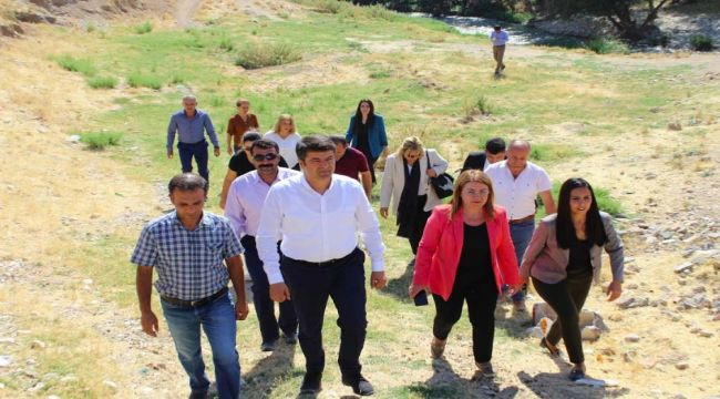 CHP Heyeti Adıyaman'da İncelemelerde Bulundu