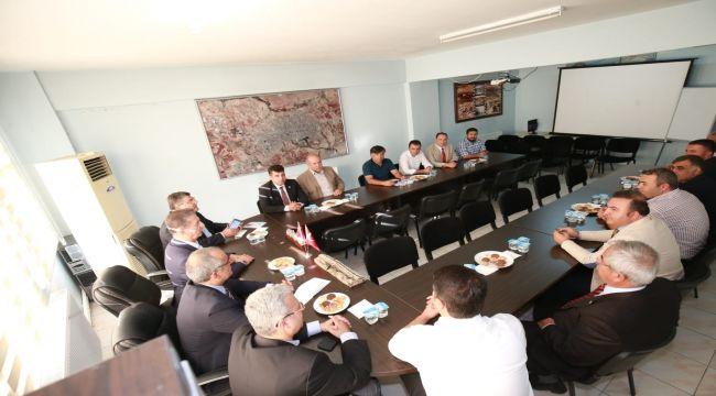 CHP Heyetinden Adıyaman Kent Konseyine Hayırlı Olsun Ziyareti