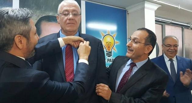 CHPli belediye başkanı AK Partiye geçti